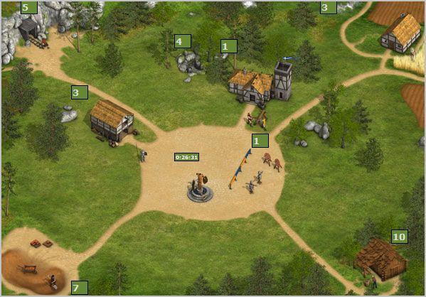 Онлайн игра война племен
