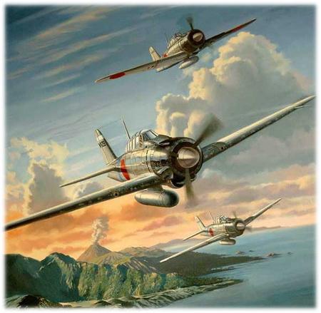 World of Warplanes - добавлены японские самолеты