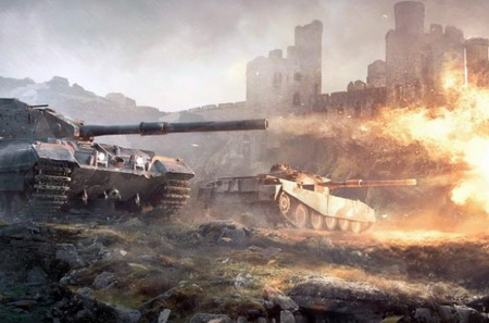 World of Tanks командные бои