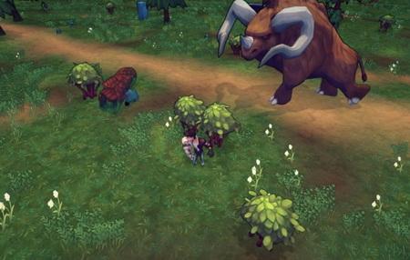 Goliath - анонс онлайн игры